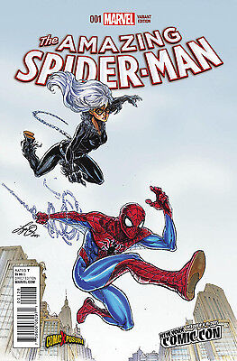 Amazing Spider-Man #1 Vol 4 Exclusive Nycc Variant [Marvel Comics]