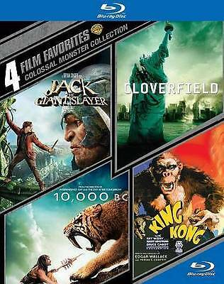 Colossal Monster Collection: 4 Film Favorites (Blu-ray Disc, 2014, 4-Disc Set)