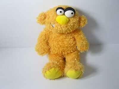 Chad Valley Toys Design A Bear Cool Dudes Yellow Plush Soft Toy Monster Figure L