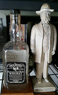 ↗ THIS WHISKEY IS 5 YEARS OLD  ↖ 1957 Jack  Daniels ☆☆ 4/5 QUART ☆☆Black Bottle