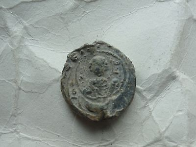 Byzantine Lead Seal Stamp 001