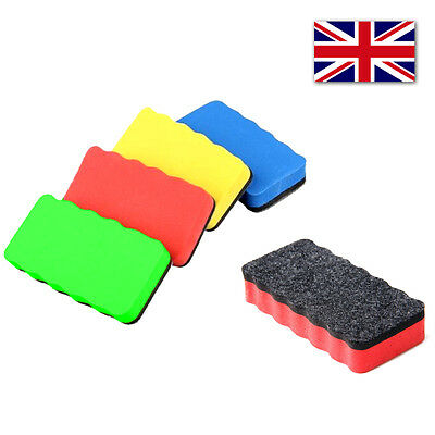 Magnetic Whiteboard Eraser Wipe Dry Board Blackboard Cleaner Magnet Marker