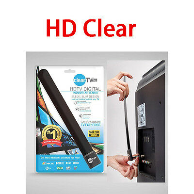 HD Clear TV Key HDTV FREE TV Digital Indoor Antenna Ditch Cable