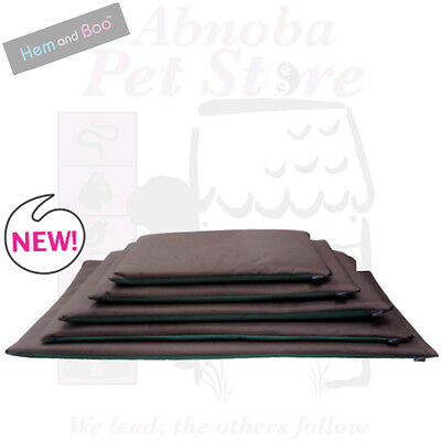 Hem & Boo Waterproof Reversible Crate Cage Mat Pet Dog Bed Hard Wearing Washable