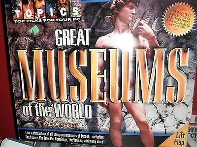 Great Museums of the world CD set