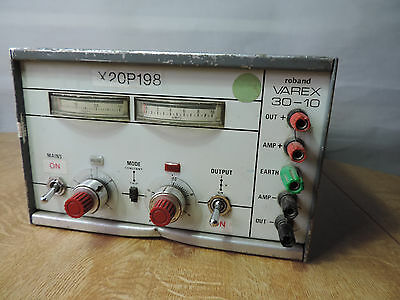 Roband Varex 30-10  Power Supply