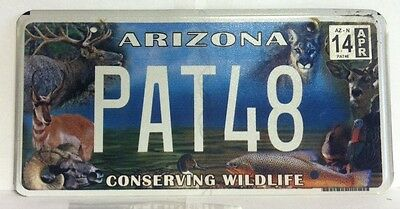 2014 ARIZONA Wildlife Vanity License Plate (PAT48)