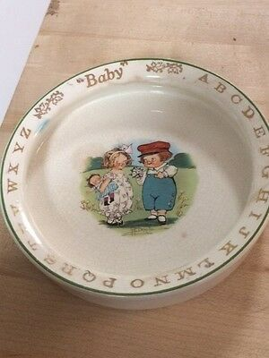 Antique Drayton CAMPBELL KIDS ABC Baby Child's dish