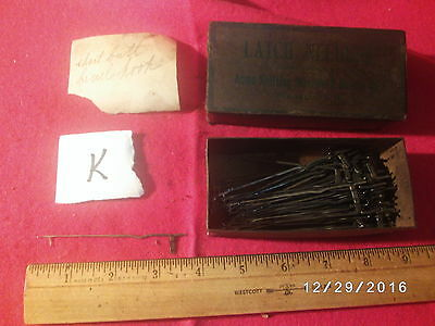 Antique Vintage 250 Latch Needles Ind Knitting Machine Sock Knitter K
