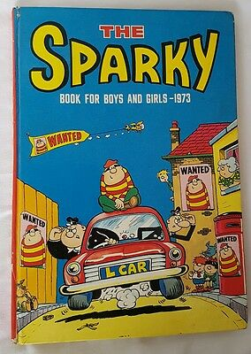 The Sparky Book For Boys And Girls 1973 annual unclipped