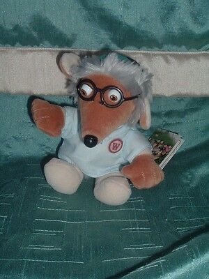 The Wombles Small Wellington Womble Beanie Plush Soft Toy With Tag