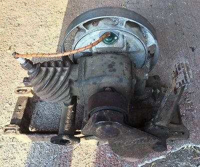 Great Running Side Exhaust Maytag Model 92 Gas Engine Motor Hit & Miss Antique
