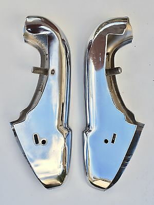 1941 Buick Front Bumper Guards Left & Right NOS
