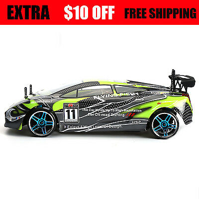 HSP Racing RC Cars Drift Car 4wd 1/10 Electric Flying Fish Drifting on-road