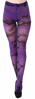 New Fashion Women Ladies Purple Shadow Pantyhose Tights Stockings Socks