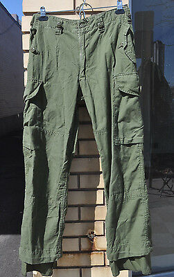 Genuine Canadian Army Lightweight  Combat Pants Trousers OD Green Size 6732