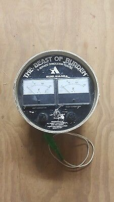 The beast of burden  Service Conductor Tester & Meter Adapter
