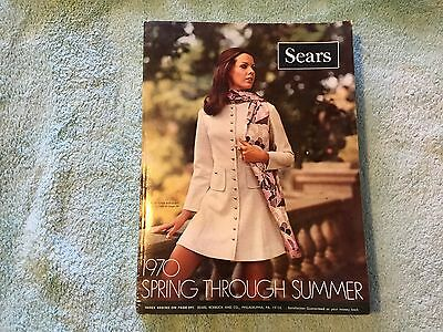 VINTAGE SEARS 1970 Spring Summer CATALOG Bicycles Fashion Clothes Retro Guns