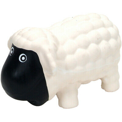 Coastal Pet Products 83070 Rascals 6.5 Latex Sheep Dog Toy-White