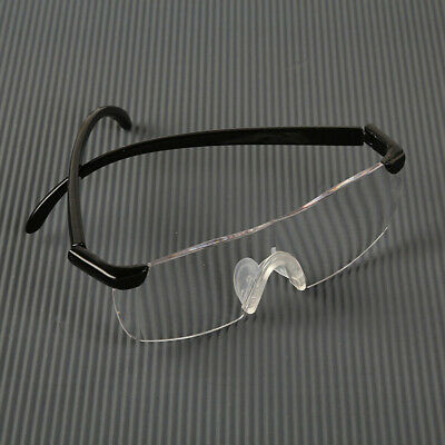 Big&Clear Vision Magnifier Presbyopic Eye Glasses Reading 160% Magnification Len
