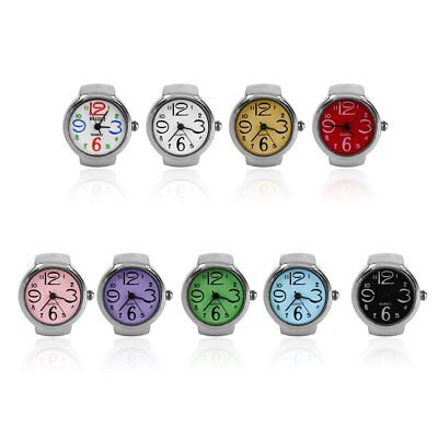 Ring Watch Quartz Finger Watches Rings Gifts Jewelry Steel Ring Watches ZP