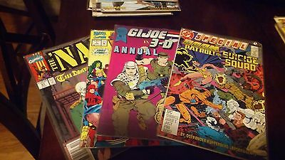 Stack of misc. COMIC BOOKS - Lot of 25 various titles - LOOK