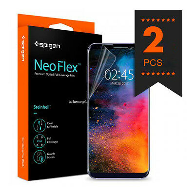 Spigen Neo Flex Screen Protector Protection Flim Cover for Samsung Galaxy S8 S8+
