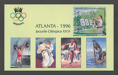 Moldova 1996 Olympic Games - Atlanta MNH Block