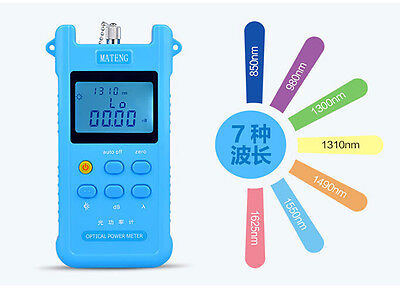 New Fiber Optical Power Meter Light Power Meter FC/SC