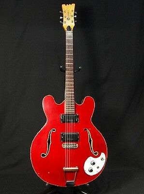 Mosrite Celebrity Ⅲ 1960s One double cutaway of the hollow body RARE VINTAG