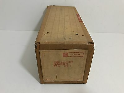Factory Sealed! Ge Fuse Clip Kit Cr208X121C 60 Amp 250 Volt