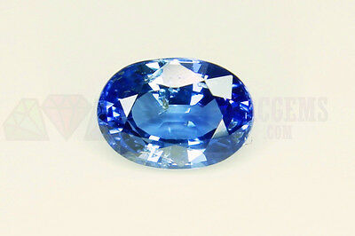 Ceylon Blue Sapphire Oval 7x5mm VS 1.19ct Loose Natural Gemstone Sri Lanka
