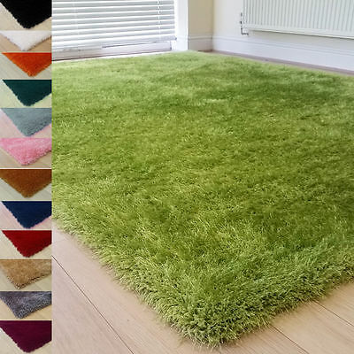 New Shaggy Mat Fluffy Rugs Anti-Skid Area Rug Room Soft Carpet Home Bedroom