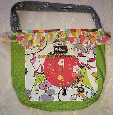 New Matilda Jane Platinum Circus Is In Town Joey Bag Purse NWOT