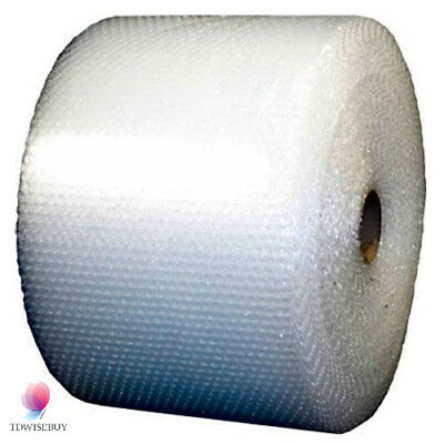 "Bubble + Wrap 1/2"" 250 ft. x 12"" Large Padding Perforated shipping moving roll"