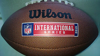 NFL AMERICAN FOOTBALL International Series Wembley Official Size Ball