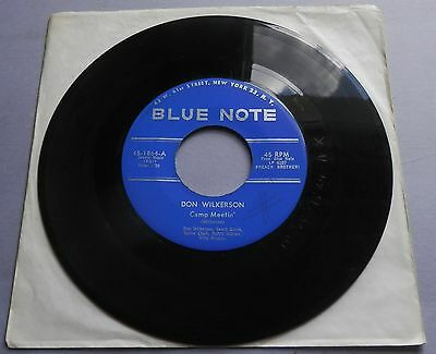 "Don Wilkerson - Camp Meetin' USA Blue Note 7"" Single"