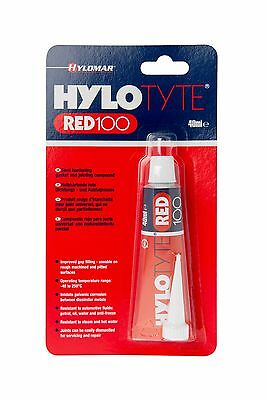 Hylomar hylotyte red100 40ml 50g semi hardening gasket jointing compound