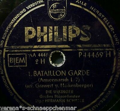 "DIE WIKINGER ""Fridericus-Rex-Grenadiermarsch / 1. Bataillon Garde"" Philips march"