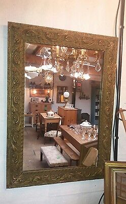 French vintage mirror.