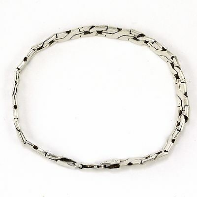 Silver Bracelet (fancy link) (estate, 14.8g) 3783