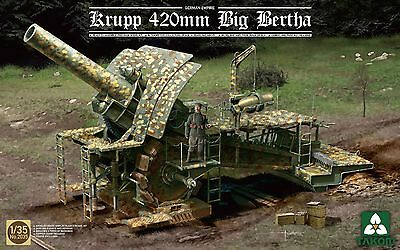TAKOM MODEL ! German Empire 420mm Big Bertha Siege How