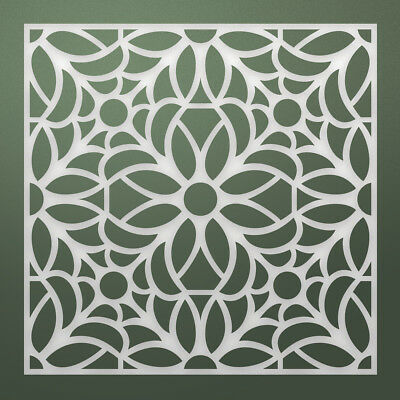 Artdeco Creations Ultimate Crafts Stained Glass Die-Florettes, 2.4X2.4