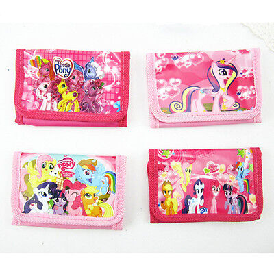 Cute Kids Boy Girl My Little Pony Doll Figures Bag Purse Wallet Pouch Toy Gift