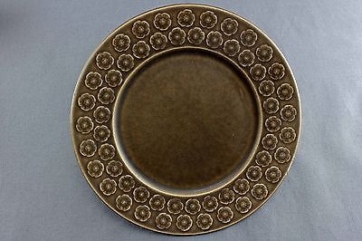 Rare Quistgaard Brown Umbra B&g Kronjyden  Cake Plate, 6 Available
