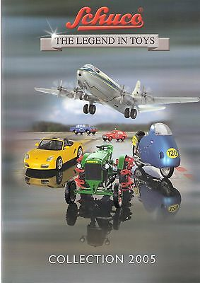 Schuco The Legend In Toys Catalogue 2005 - 139 Pages Full Colour