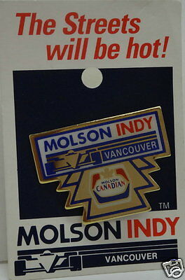 MOLSON INDY VANCOUVER Collector Pins... Collection of 7.