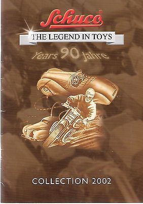 Schuco The Legend In Toys Catalogue 2002 - 87 Pages Full Colour