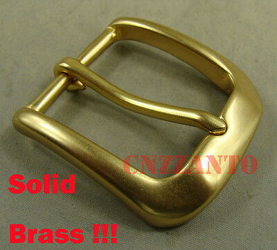 Solid Brass Classical Pin Hippie Belt Buckles for 38mm (1.5 inch) belt