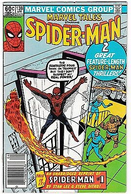 MARVEL TALES #138 (FN) reprints the Classic AMAZING SPIDER-MAN #1 Newsstand 1982
